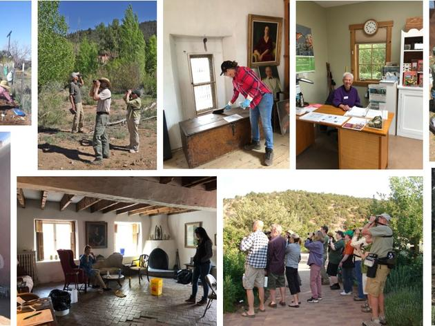 Mil Gracias to the Randall Davey Audubon Center & Sanctuary Summer Volunteers
